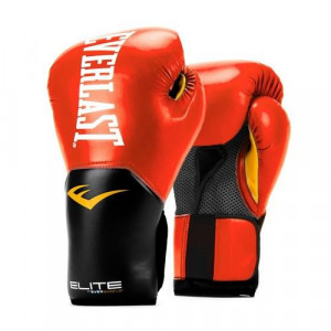 Перчатки боксерские Everlast New Pro Style Elite, Red, 14 OZ Everlast