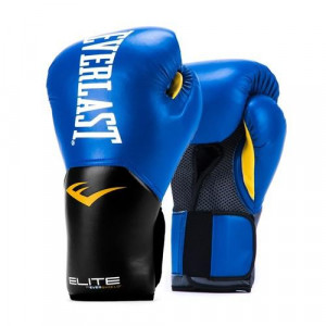 Перчатки боксерские Everlast New Pro Style Elite, Blue, 16 OZ Everlast
