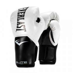 Перчатки боксерские Everlast New Pro Style Elite, White, 8 OZ Everlast