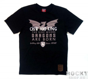 Футболка Crew&King The Dragon CrewandKing