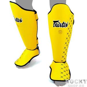Защита голени Fairtex SP5, Yellow Fairtex