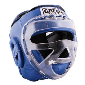 Шлем для бокса SAFE, Синий Green Hill